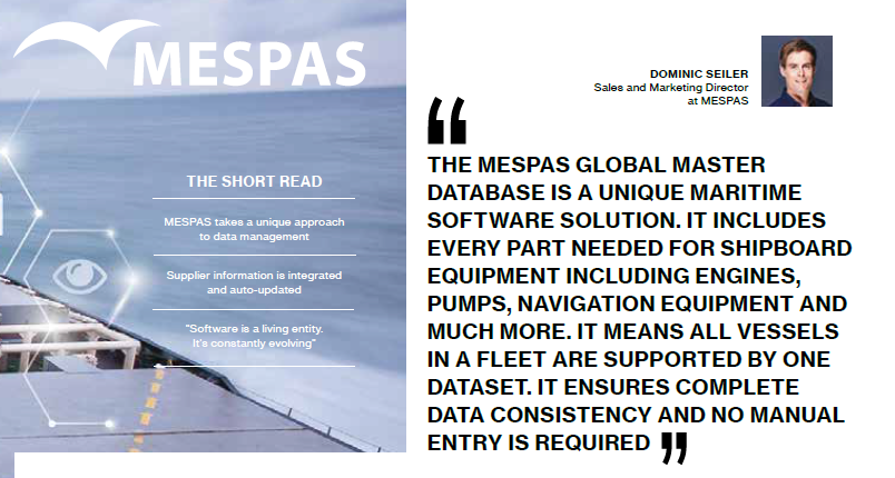 MESPAS features in Marine Trader